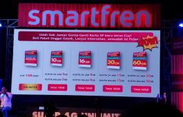 Smartfren goda milenial dengan paket kuota jumbo