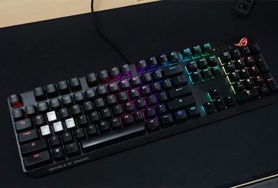 ROG Strix Scope, keyboardnya gamer yang suka nembak
