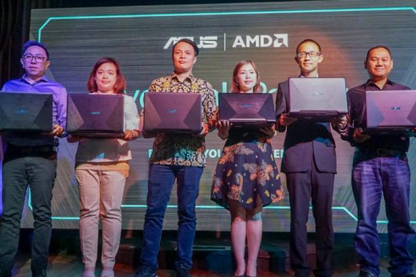 Asus resmi perkenalkan VivoBook Pro F570, Laptop Ryzen GPU Nvidia
