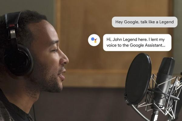 John Legend isi suara Google Assistant