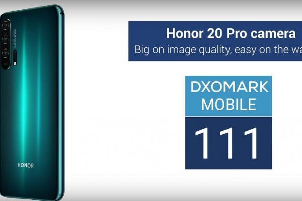 Kamera Honor 20 Pro toreh nilai 111 poin dari DxOMark