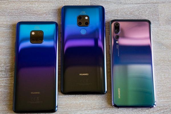 Huawei salip Apple di pasar smartphone premium