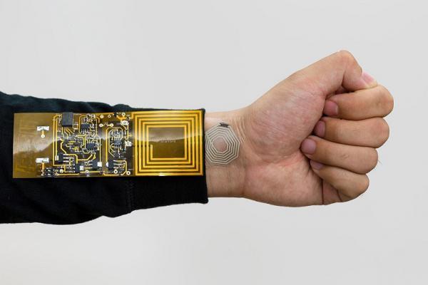 Ini bukan stiker, tapi sensor tubuh