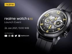 realme Watch S Pro bakal rilis 26 Januari di Indonesia