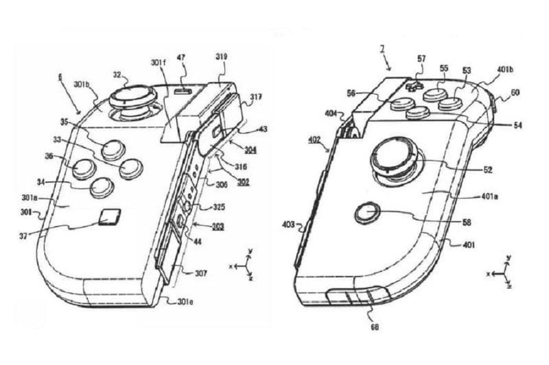 Nintendo akan sematkan engsel pada kontroler Switch