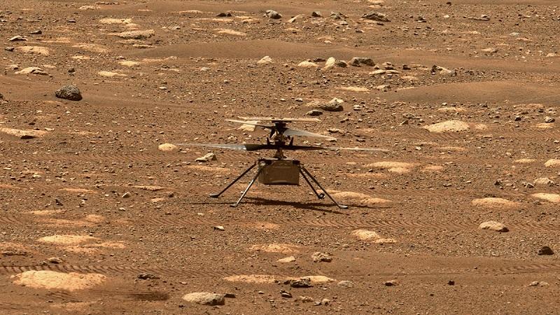 Penerbangan pertama helikopter Ingenuity di Mars ditunda