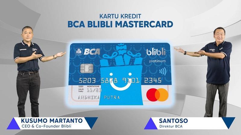 Blibli dan BCA kolaborasi hadirkan kartu kredit