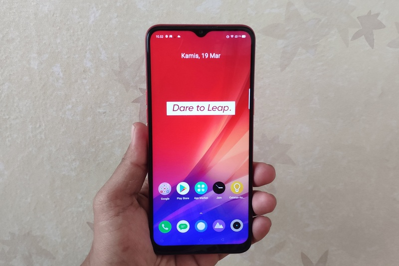 Foto desain realme c3, hp gaming entry level