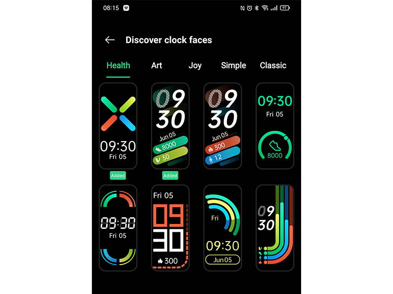 OPPO band Watch Face
